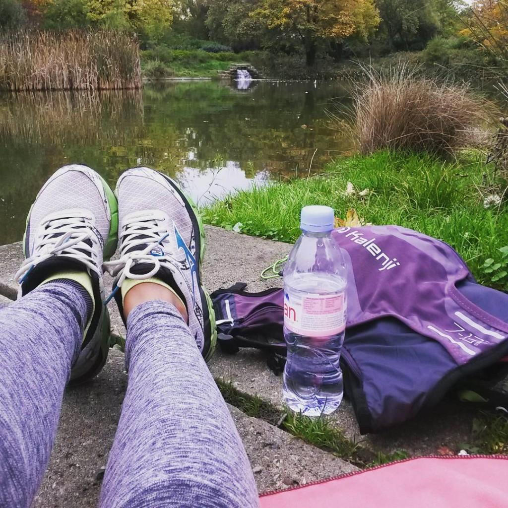 entraînement au parc
