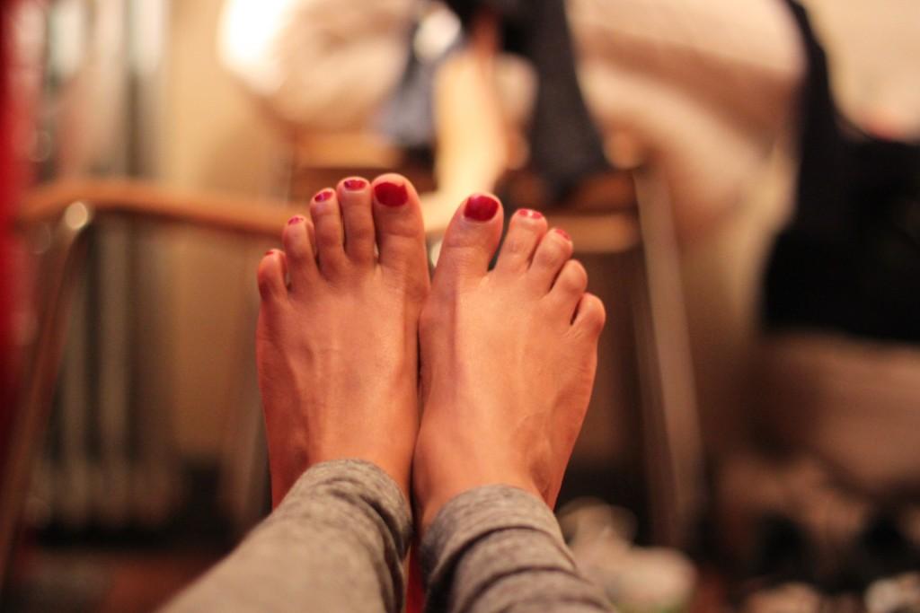 On soigne ses pieds