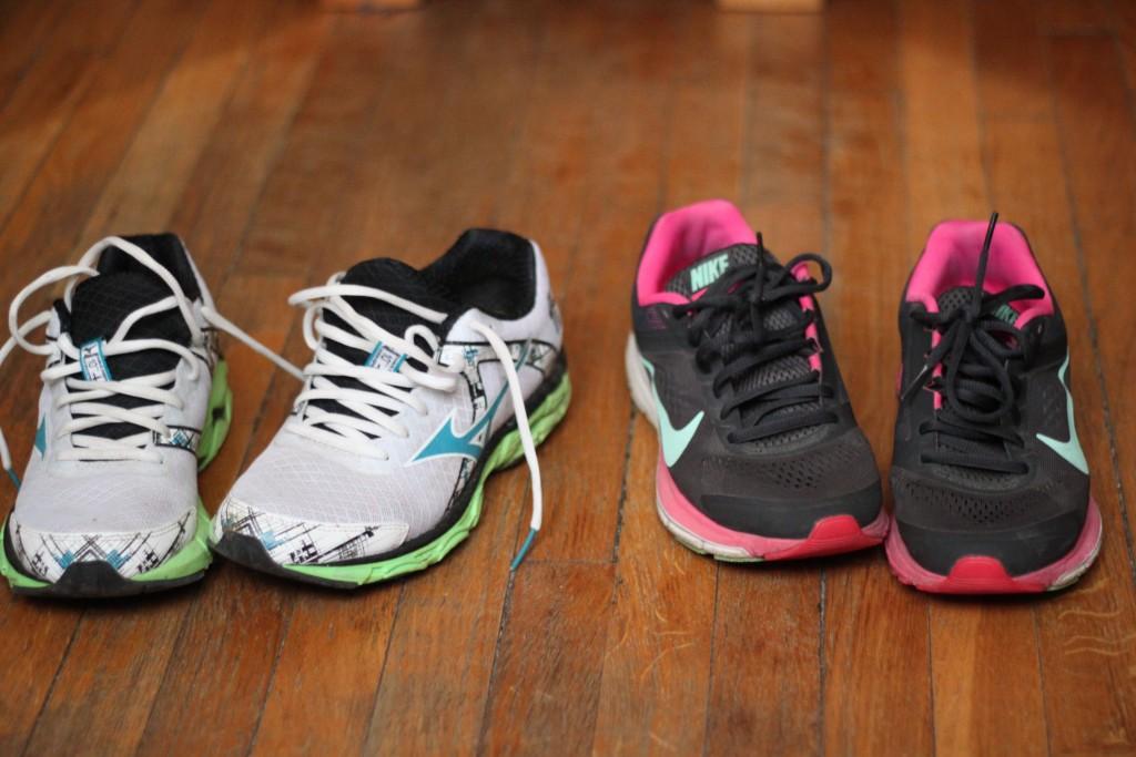De bonnes chaussures de running