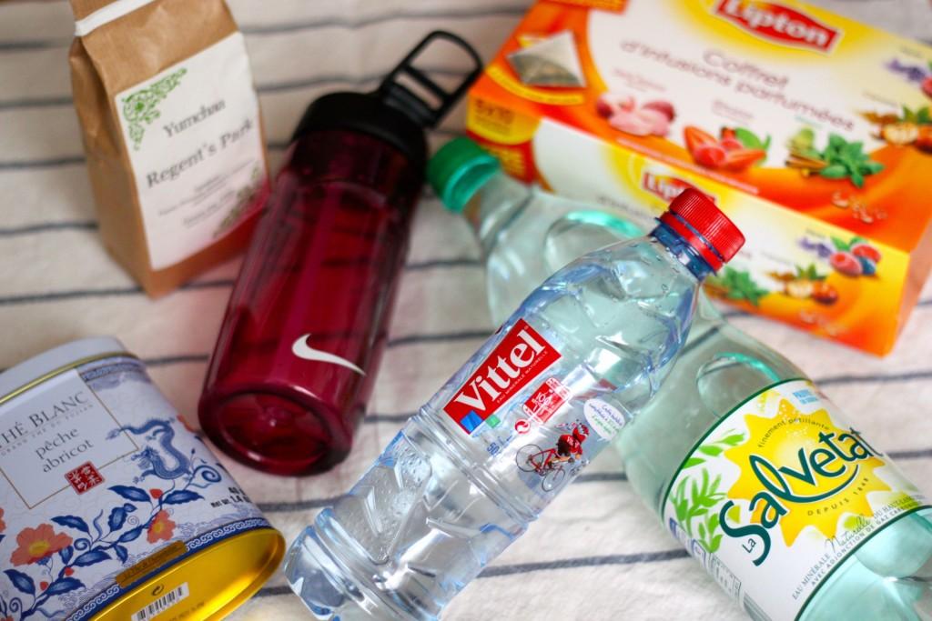 Prendre soin de son corps en running - l'hydratation