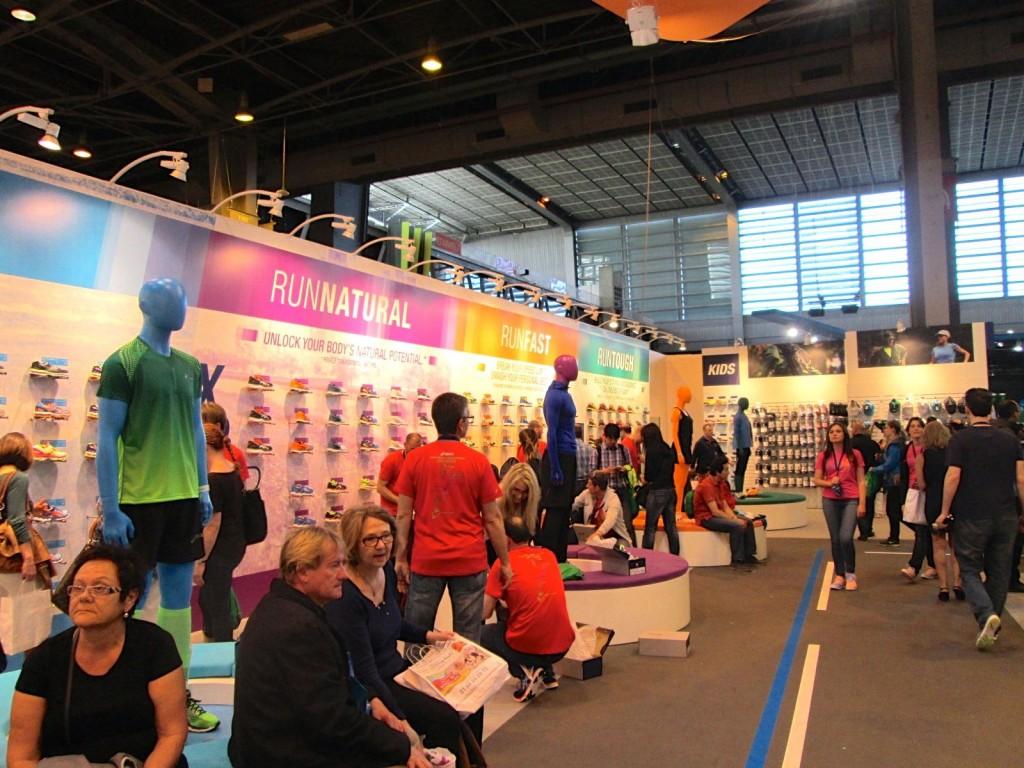Salon du running - stand Asics
