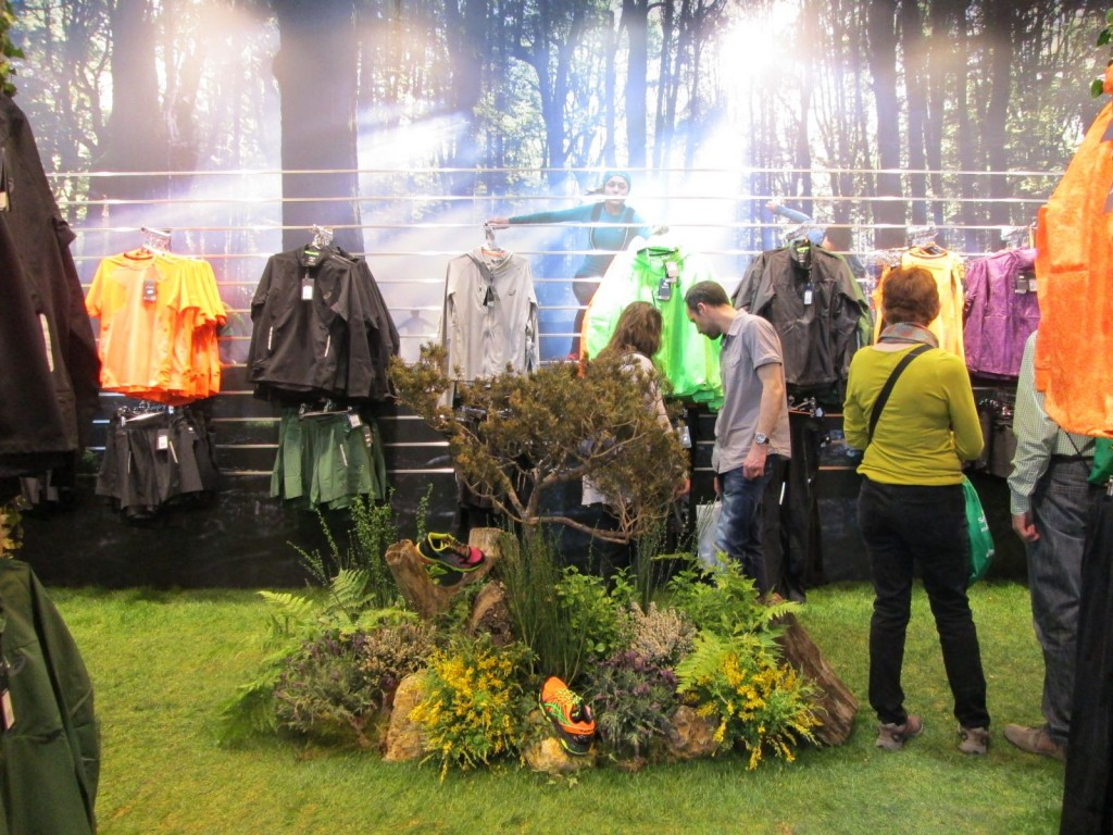 Salon du running - Asics trail