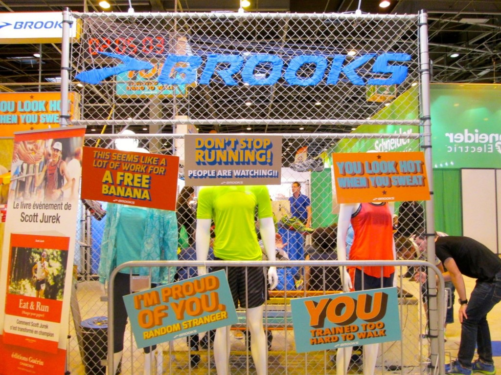 Salon du running - Brooks