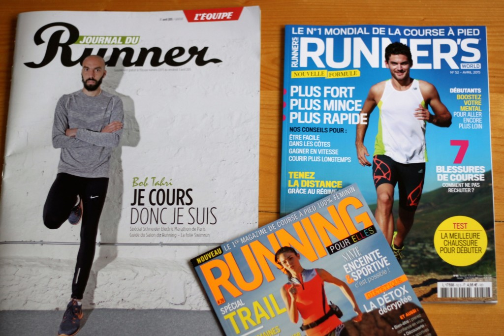 Salon du running - magazines