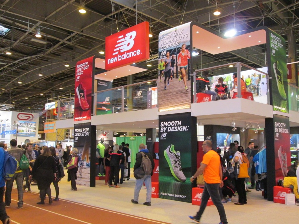 Salon du running - New Balance