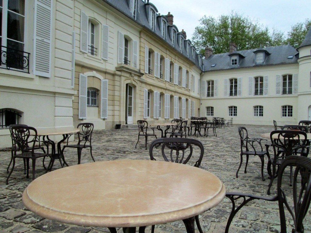 Terrasse du chateau Saint-Just