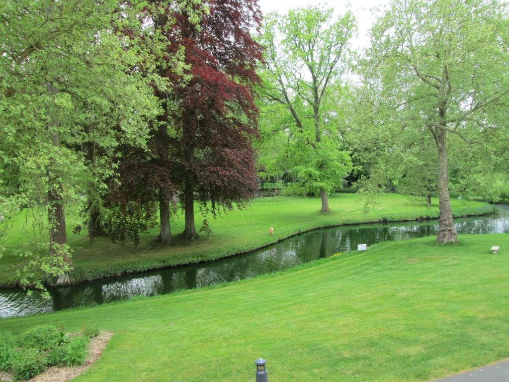 Chateau Saint-Just - vue de notre chambre
