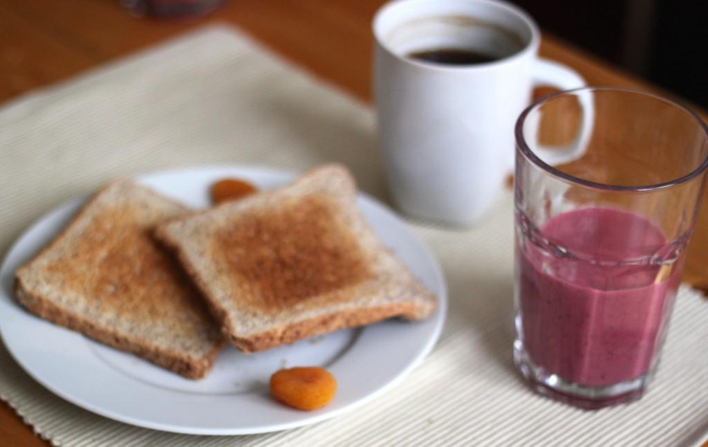 smoothie au petit déjeuner