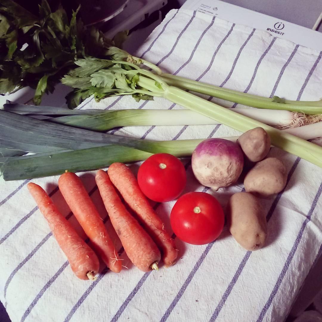 Soupe facile aux 7 légumes