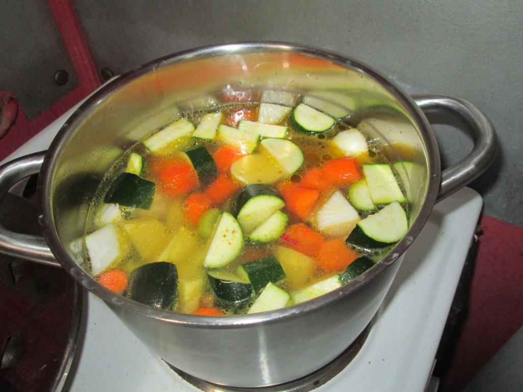 Soupe aux 7 légumes - Etape 2