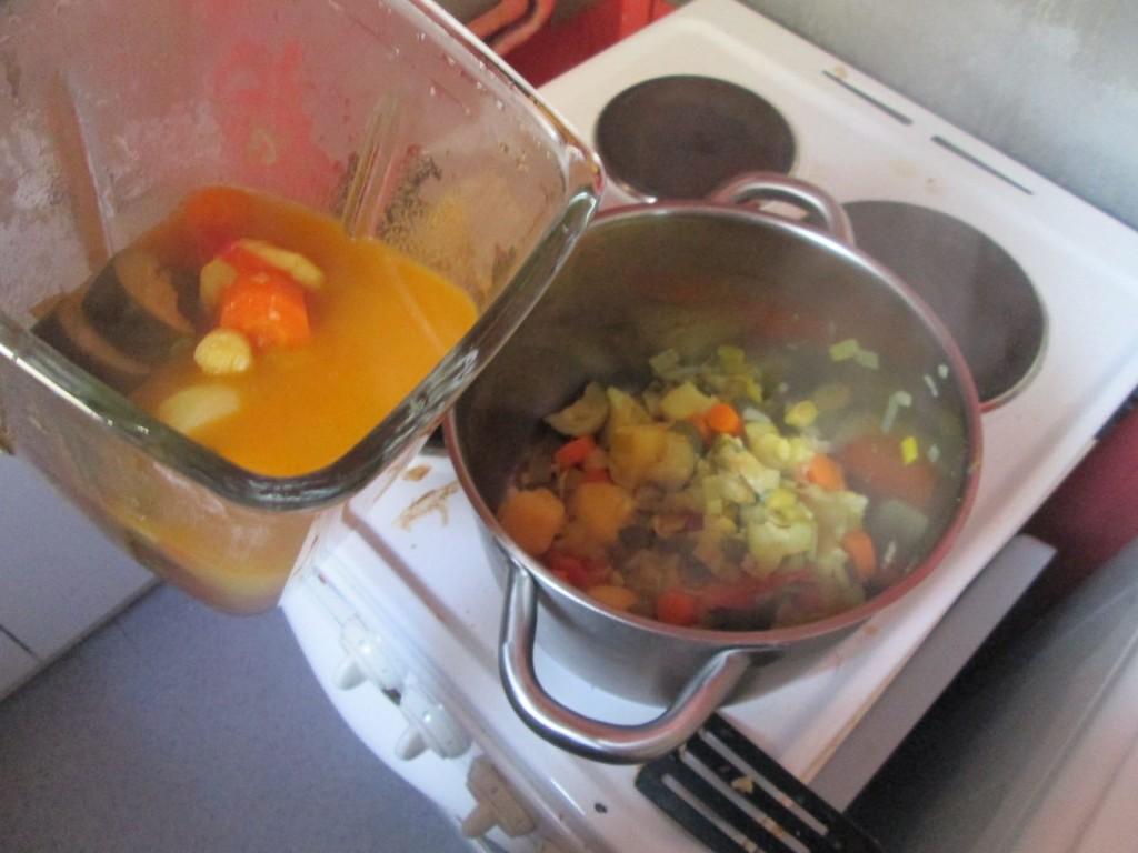 Soupe aux 7 légumes - Etape 3