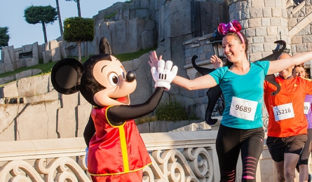 Semi-marathon Disneyland Paris 2016
