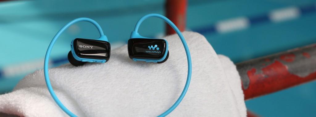 Casque MP3 étanche
