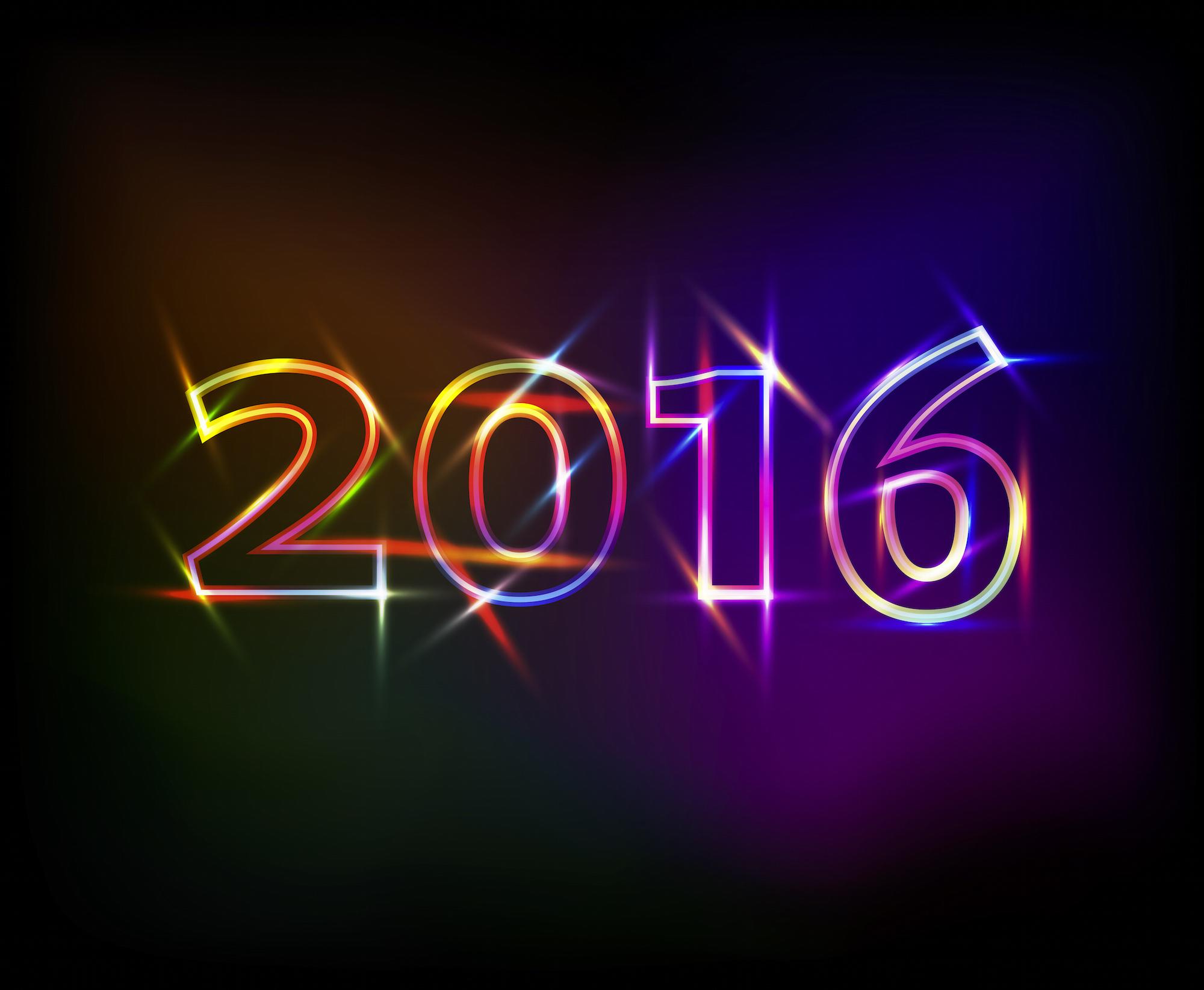 Nouvelle année 2016