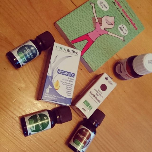 Meet my new friends for the week! Essential oils !hellip