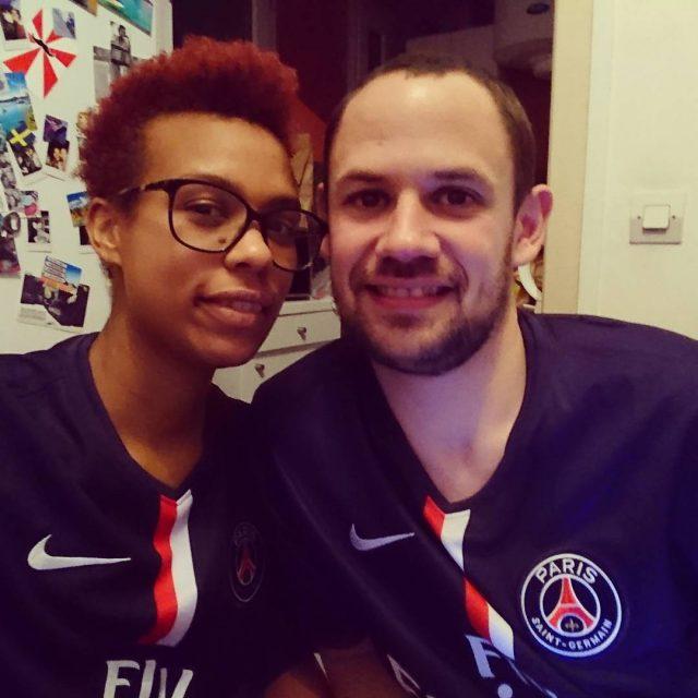 Perfect Valentines day Merci Paris!!!! psg parisestmagique icicestparis football sportaddict