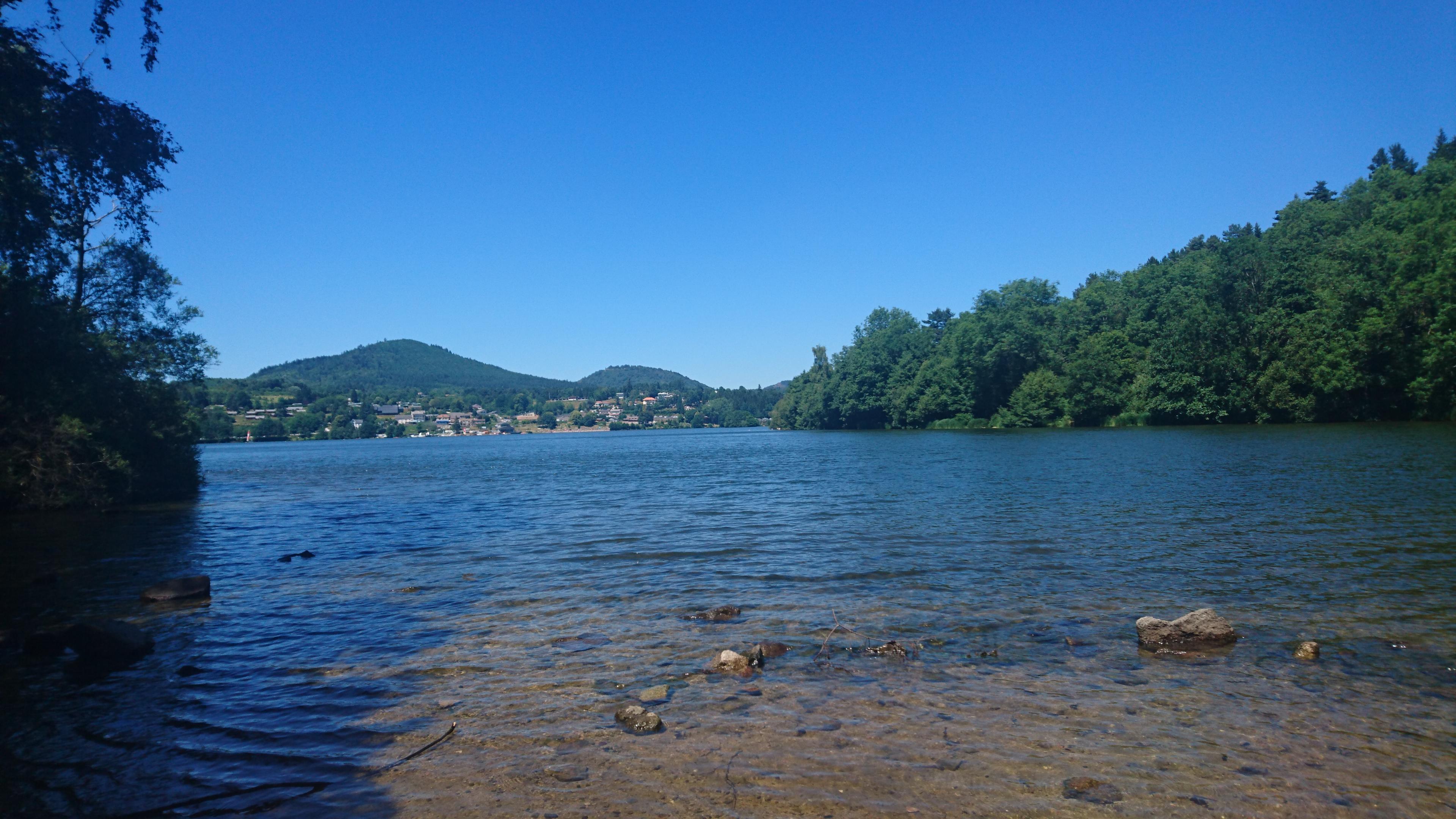 Bilan sportif juin et juillet - Lac d'Aydat - Auvergne