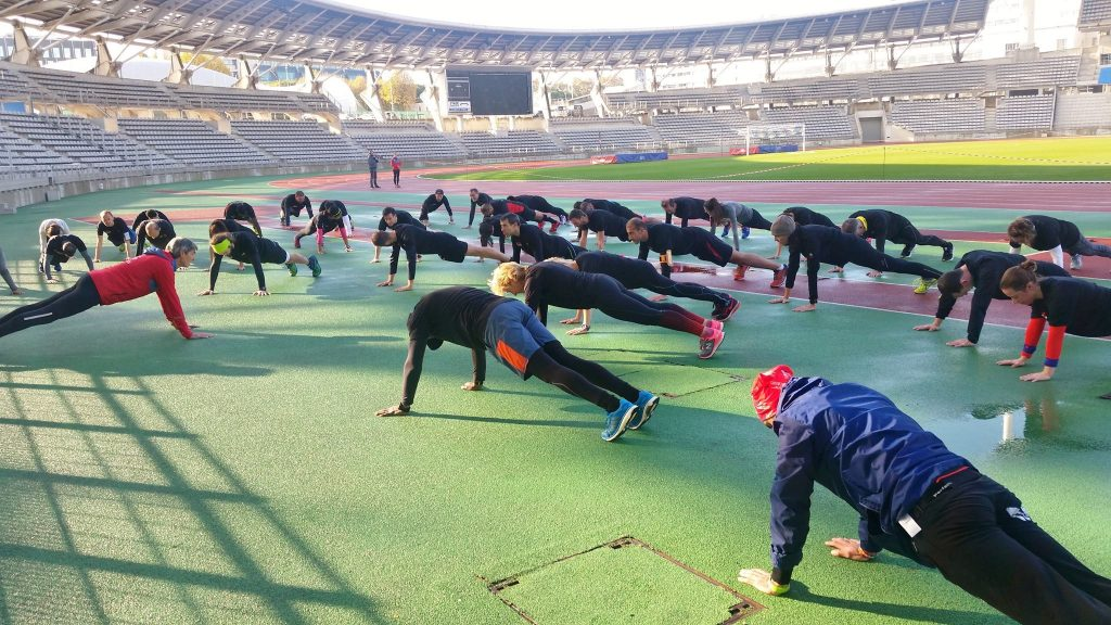 RMC Running Session - atelier 3 - gainage