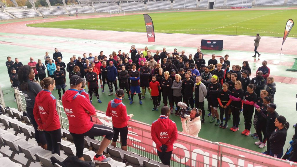 RMC Running Session - briefing des coachs X-run