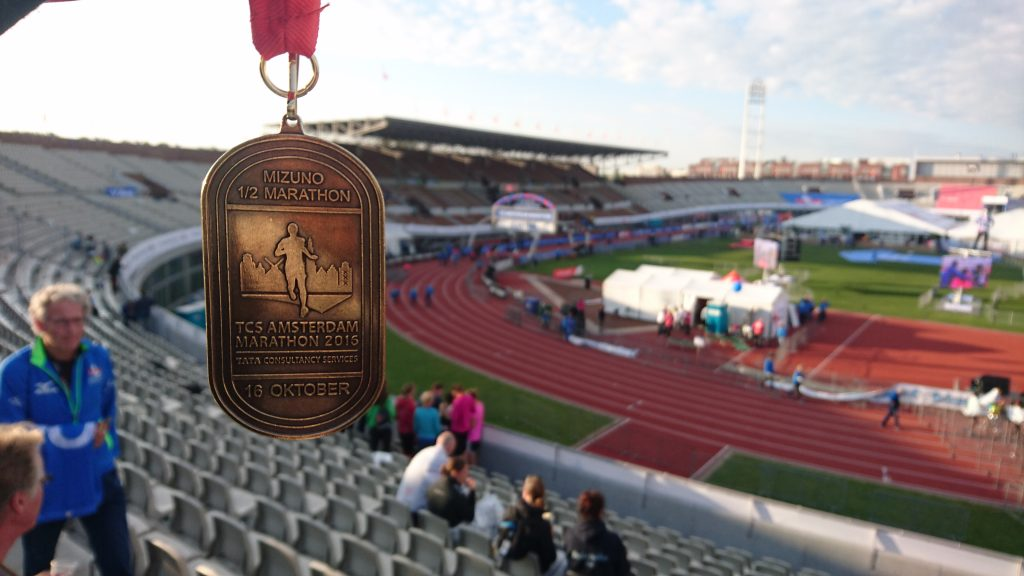 Médaille Semi-marathon d'Amsterdam