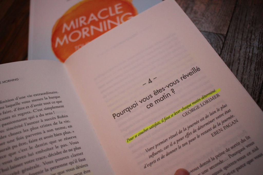 Miracle Morning - Pourquoi se lever si tôt ?