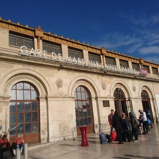 Et je suis donc  Marseille ! Je suis descenduehellip