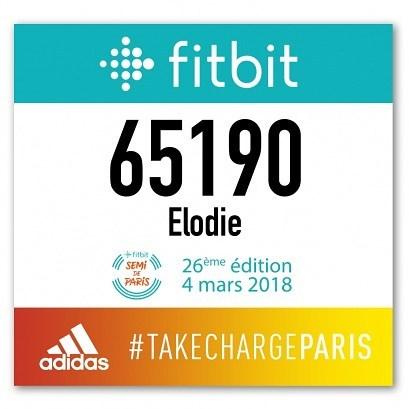 Mon prochain gros challenge  le semimarathon de Paris 2018hellip