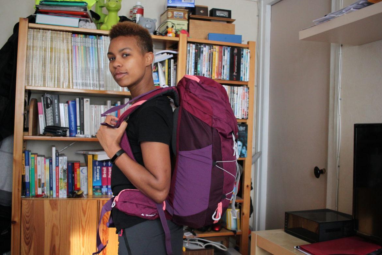 Mon sac pour 9 jours de randonnée