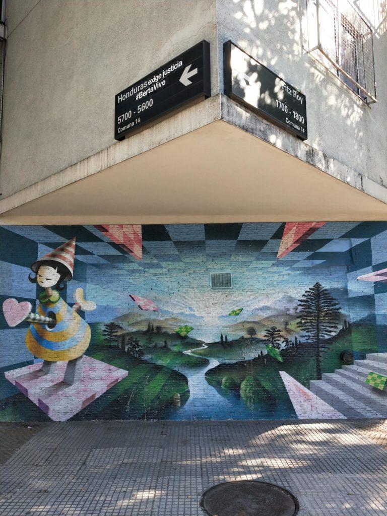 15 jours en Argentine - graffiti à Buenos Aires