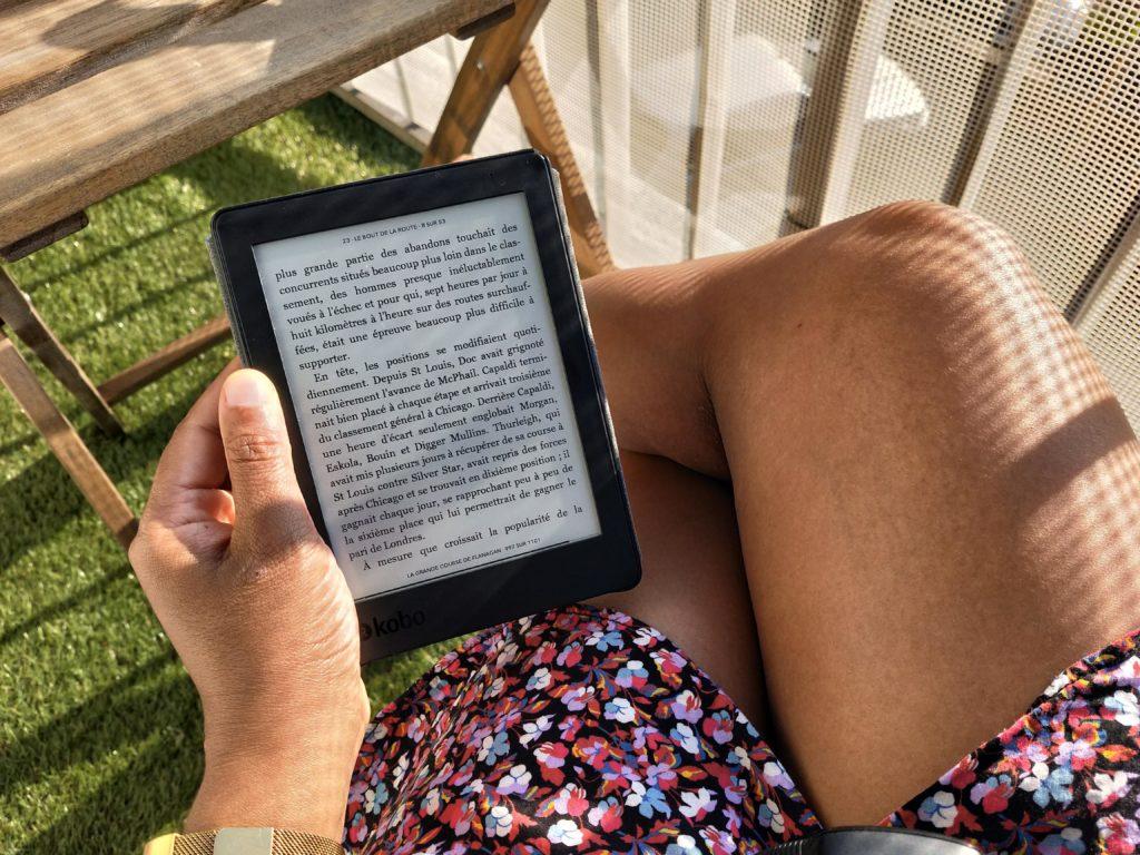 Révélation du confinement - pause lecture au soleil