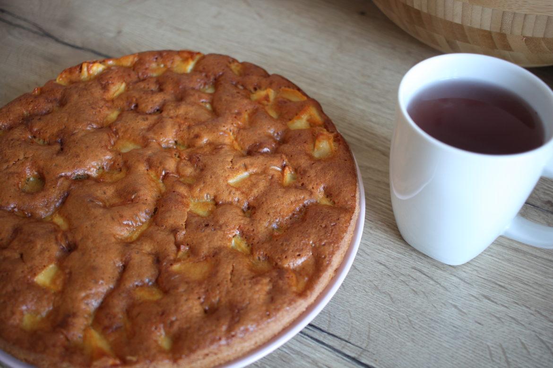 Gâteau aux pommes super simple