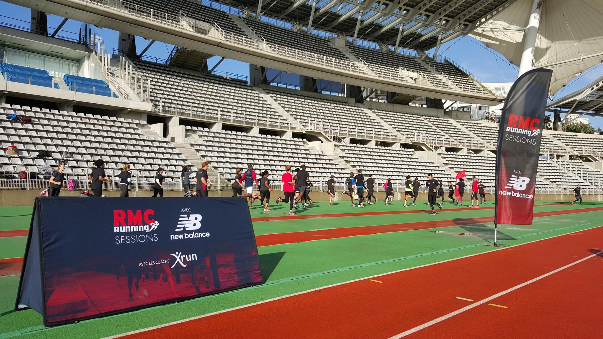 RMC Running Session au Stade Charléty