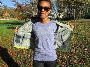 Equipement running automne-hiver - veste imperméable