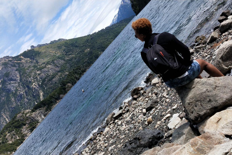 Quand mars rime avec reprise - Un lac non loin de San Carlos de Bariloche